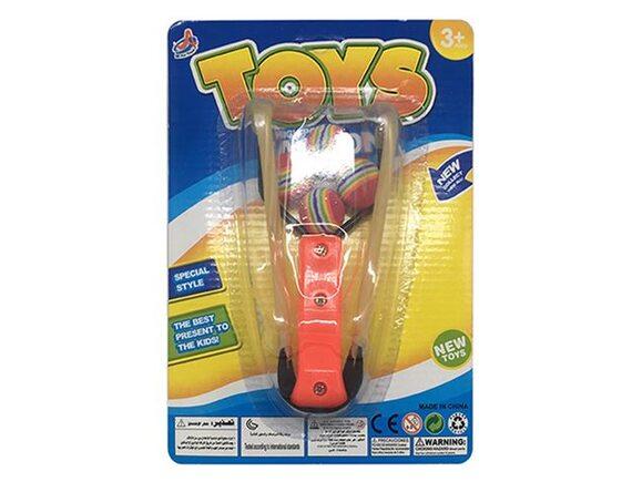 Рогатка на резинке с четырьмя мячиками 200805584 - приобрести в ИГРАЙ-ОПТ - магазин игрушек по оптовым ценам
