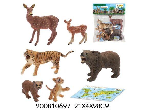 Игровой набор Zooграфия Животные 200810697