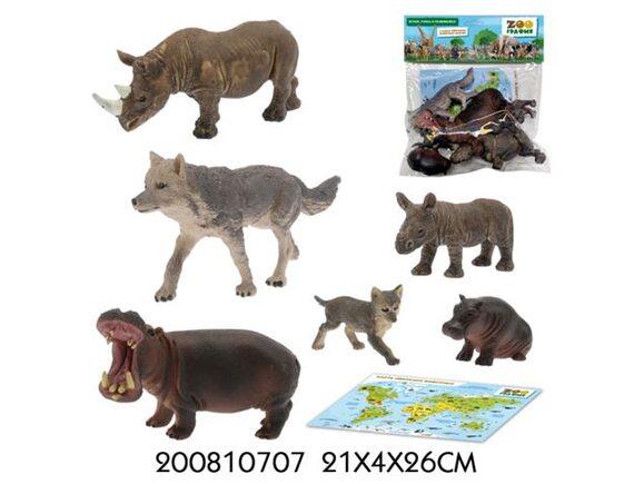 Игровой набор Zooграфия Животные 200810707