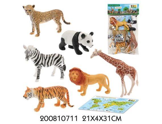 Игровой набор Zooграфия Животные 200810711