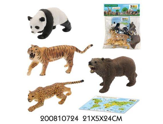 Игровой набор Zooграфия Животные 200810724