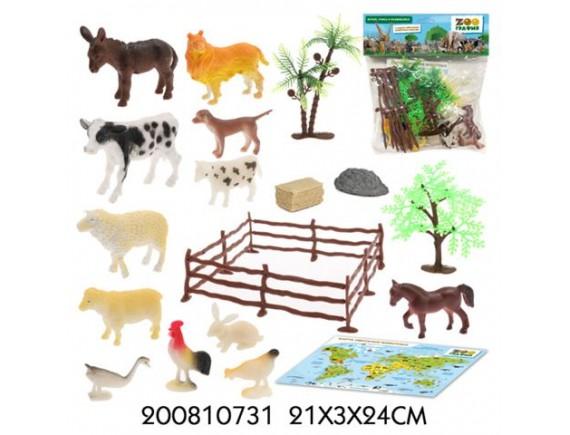 Игровой набор Zooграфия Домашние животные 200810731