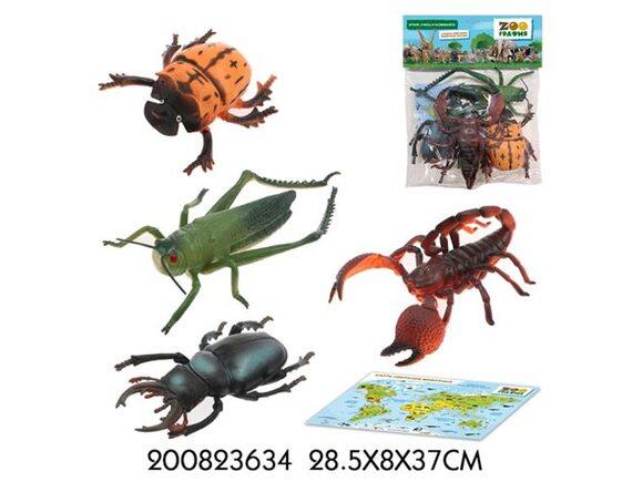 Игровой набор Zooграфия Насекомые 200823634