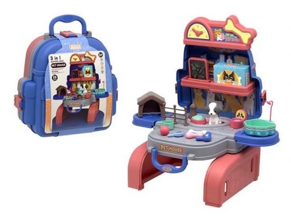 Дом с домашними животными Pet House в чемодане 200844381