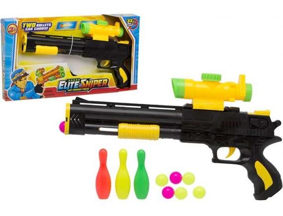 Пистолет в наборе с мишенью и шарами 200857996 - приобрести в ИГРАЙ-ОПТ - магазин игрушек по оптовым ценам
