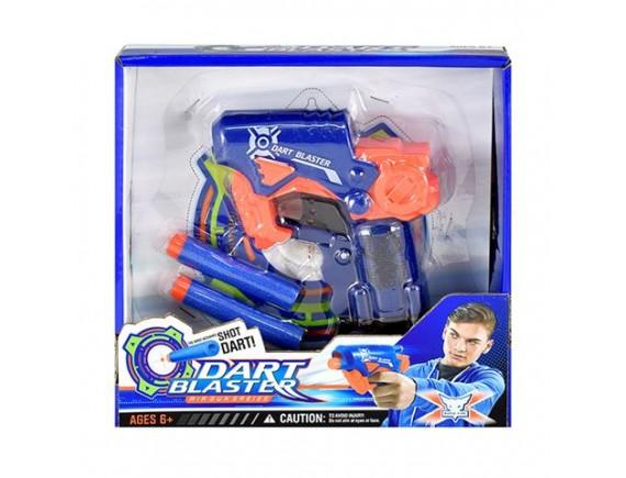 Игрушка Пистолет с мягкими пулями 13см 200858011