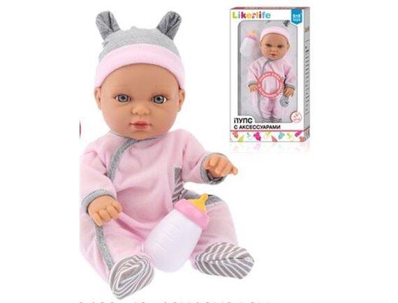 Кукла - пупс функциональная Like Life с аксессуарами 50170