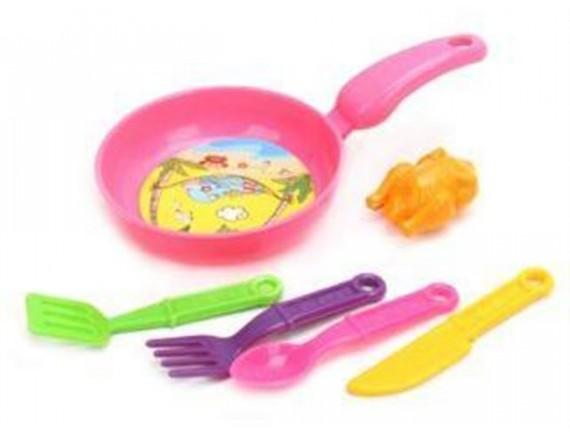 Игровой набор посудки с курочкой 639379 - приобрести в ИГРАЙ-ОПТ - магазин игрушек по оптовым ценам