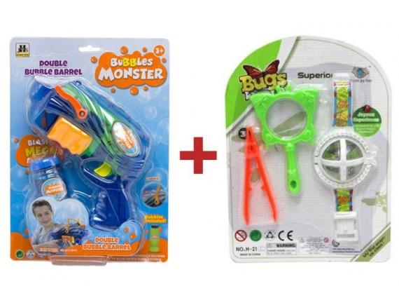Набор для похода с мыльными пузырями и бластером 6876_66300 - приобрести в ИГРАЙ-ОПТ - магазин игрушек по оптовым ценам