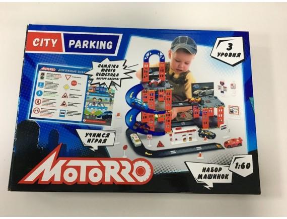 """Игровой набор """"Гараж"""" TM MOTORRO 951992"""