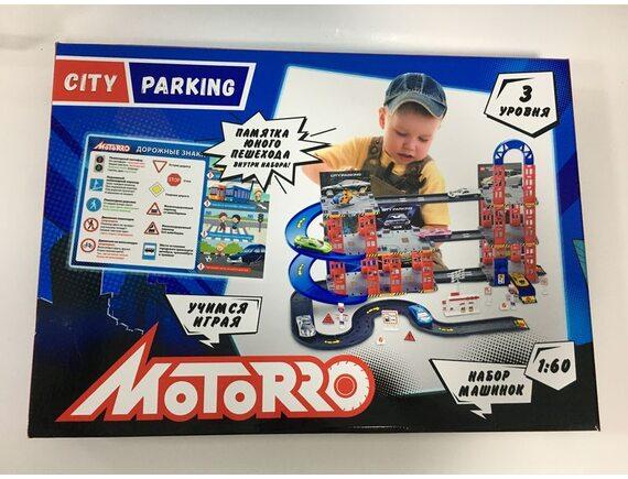 """Игровой набор """"Гараж"""" TM MOTORRO 951995"""