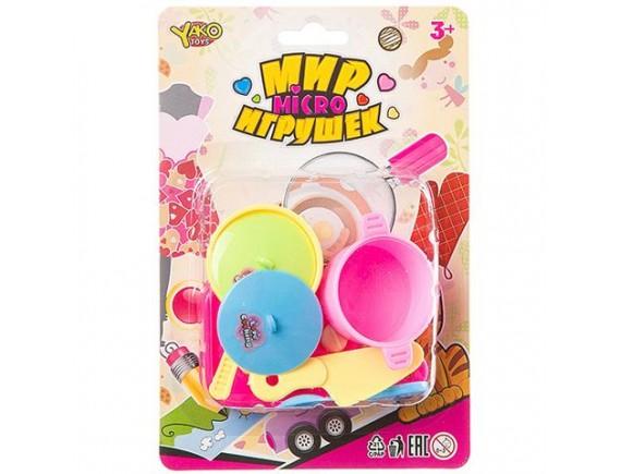 Набор детской посудки Yaco Toys Мир Игрушек Д93785 - приобрести в ИГРАЙ-ОПТ - магазин игрушек по оптовым ценам