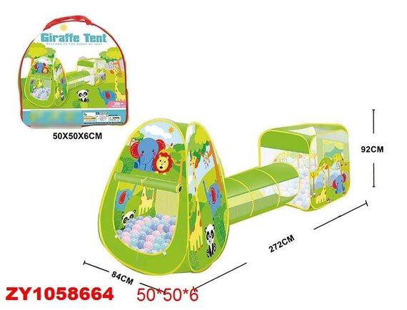Палатка детская с туннелем ZY1058664