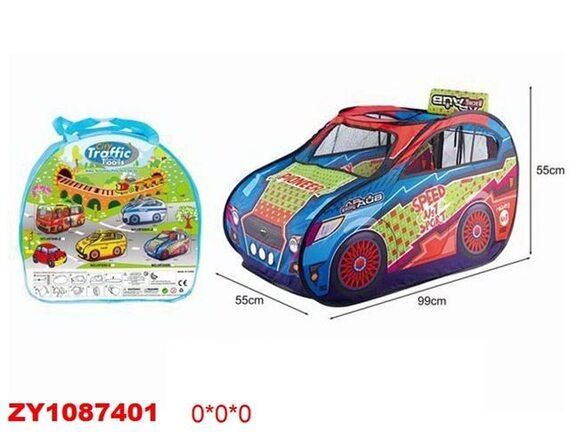 Детская палатка Машина Traffic Tools ZY1087401 - приобрести в ИГРАЙ-ОПТ - магазин игрушек по оптовым ценам