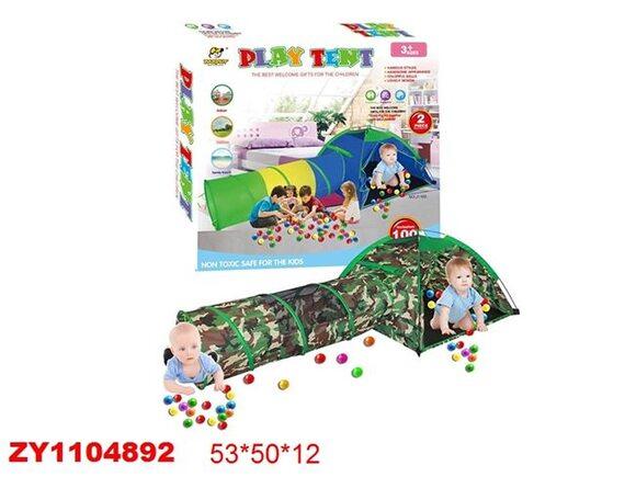 Палатка детская Play Tent камуфляж ZY1104892 - приобрести в ИГРАЙ-ОПТ - магазин игрушек по оптовым ценам