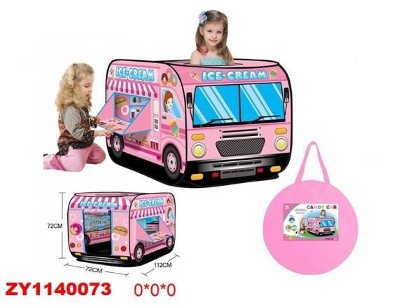 """Домик-палатка детская """"Автобус"""" ZY1140073"""