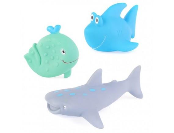 Набор игрушечных морских животных в сетке ZYK-073H-42