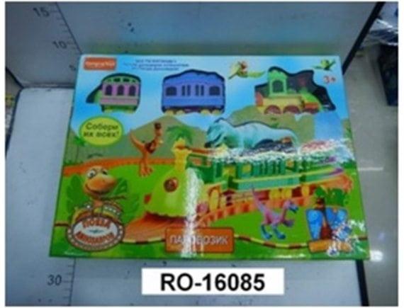 Игровой набор: «Поезд динозавров» (на бат.) 16085