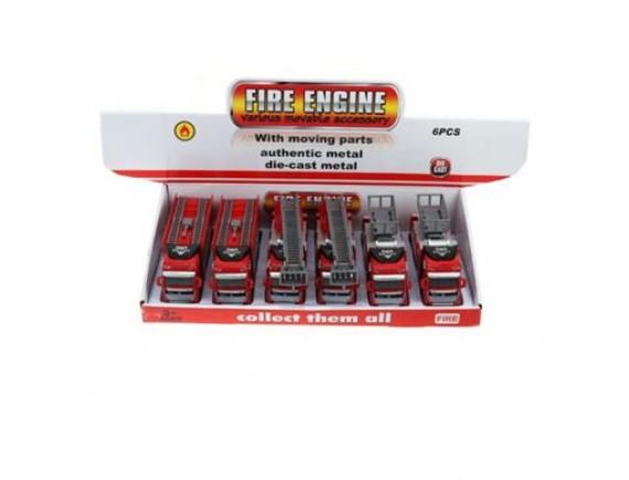 Машинки пожарные в боксе 6 шт LT2211-11