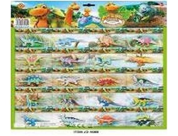 Набор динозавров на листе LTJD-160B