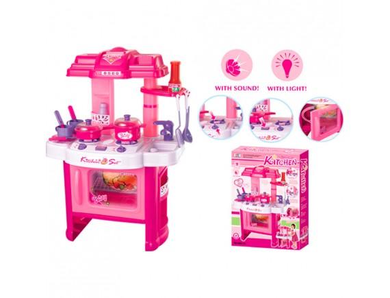 Кухонный набор-розовый LT008-26