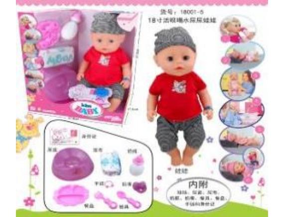 Кукла-пупс 6 функции 18001-5