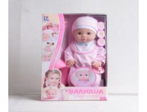 Кукла Валюша 6 функций кор 16щт LT30903-2