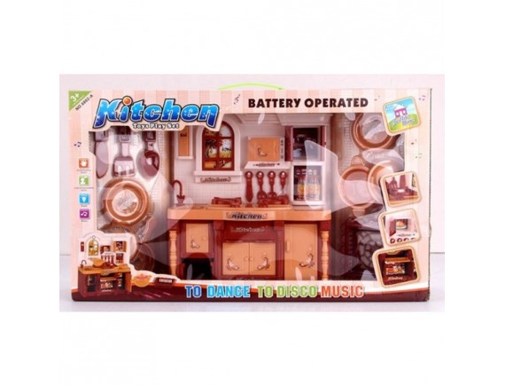 Игровой набор кухня музыка и свет LT6802-A