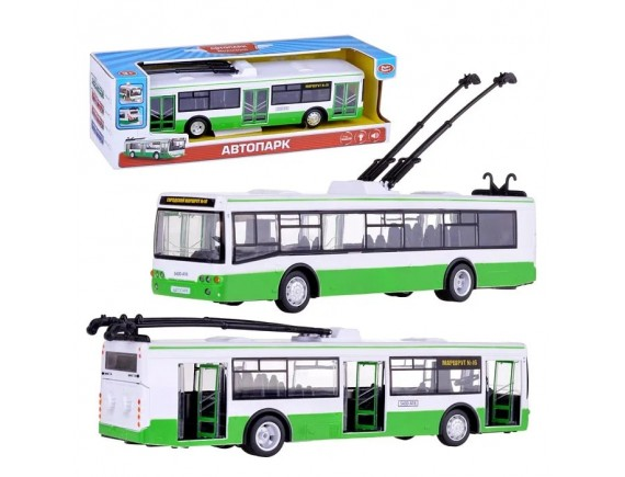 Троллейбус Play Smart на батарейках LT9690-A