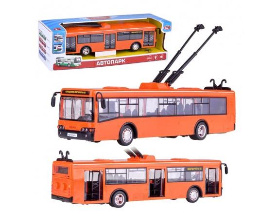 Троллейбус Play Smart инерционный  LT9690-B