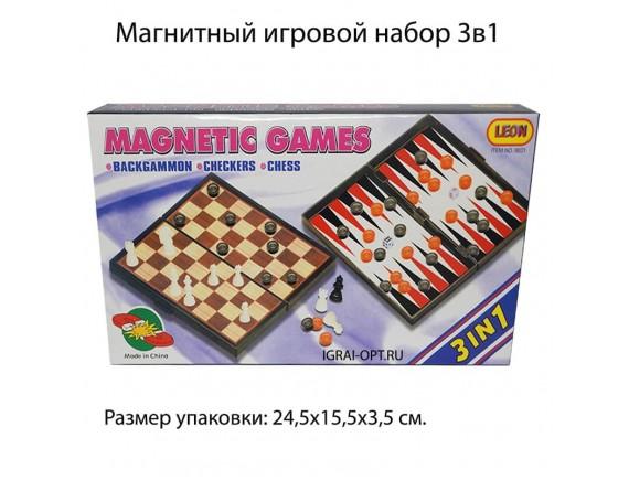 Шахматы магнитные 3в1 LT9831