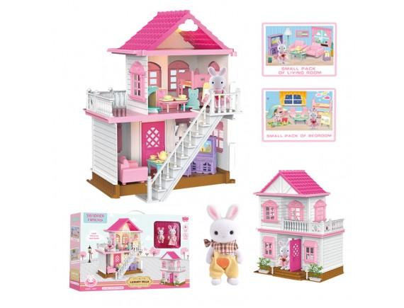 Детский кукольный домик LTY8816