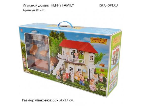 """Загородный домик для зверюшек """"Happy Family"""" 012-01"""