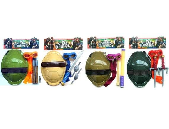 Набор оружия героев-черепашек 09322