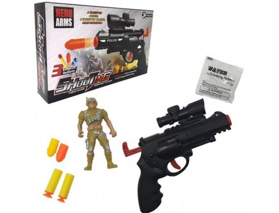 """Игрушка """"Пистолет"""" с мягкими и гелевыми пулями 100002495"""