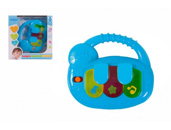 """Развивающая игрушка """"Мое первое пианино"""" 100743446"""