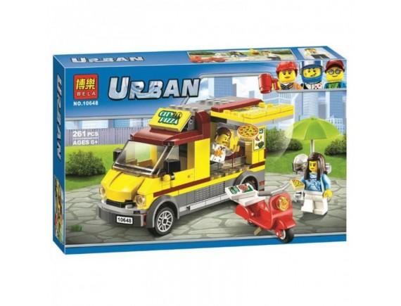 Конструктор BELA Urban Фургон-пиццерия 10648