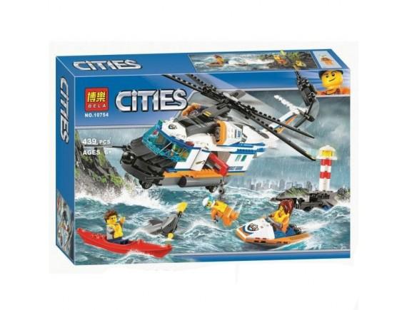 """Пластиковый конструктор BELA """"Вертолет"""" 10754"""