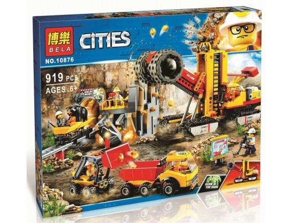 Конструктор BELA Cities Шахта 10876