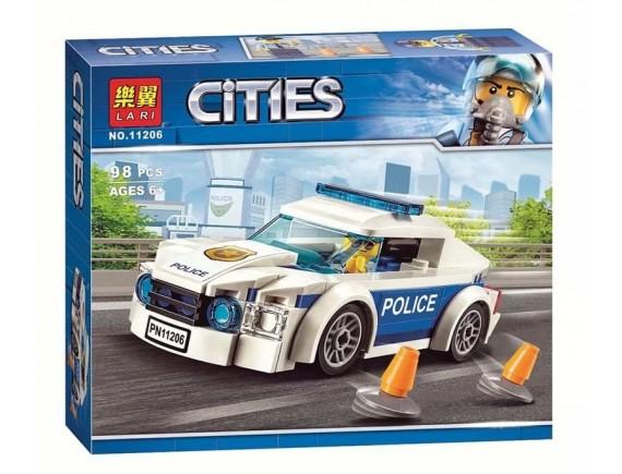 Конструктор LARI City Полицейский патруль 11206