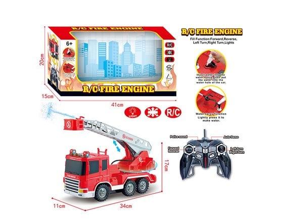 Пожарная машина на р/у 128A-23