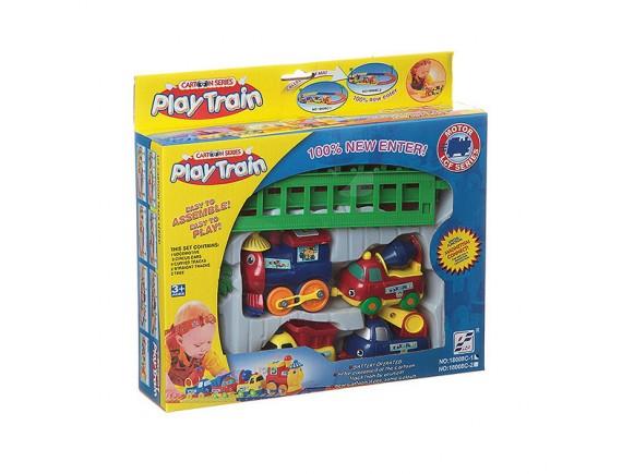 Железная дорога для малышей 18008C-1