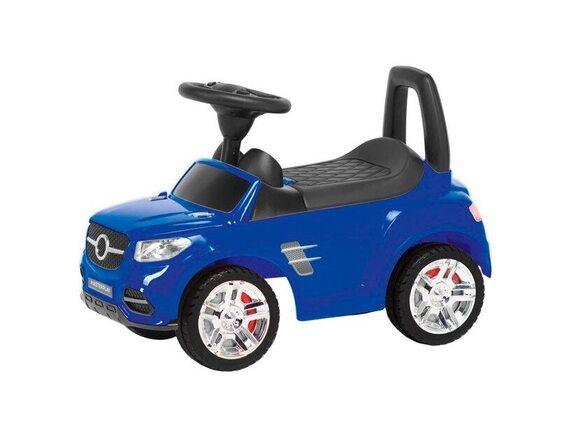 Машина-каталка MB (синий) 2-002B
