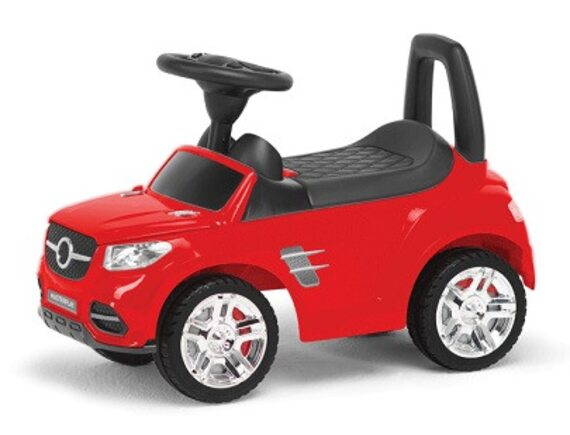 Машина-каталка MB (красный) 2-002R
