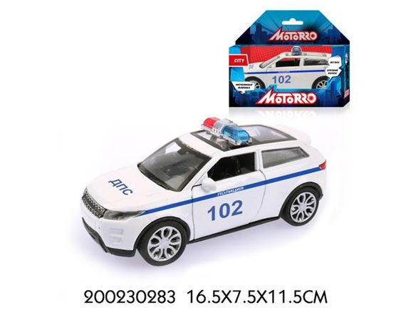 "Машинка Motorro ""Полиция"" 200230283"