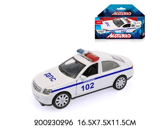 "Машинка Motorro ""Полиция"" 200230296"