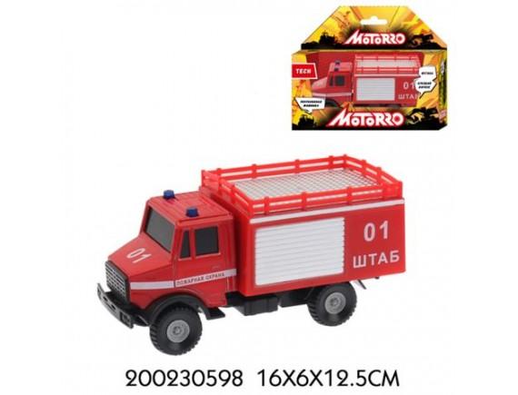 """Машинка Motorro """"Пожарная охрана"""" 200230598"""