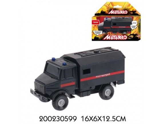 "Машинка Motorro ""Росгвардия"" 200230599"