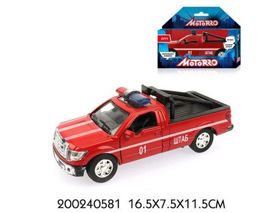 """Машинка Motorro """"Пожарная охрана"""" 200240581"""