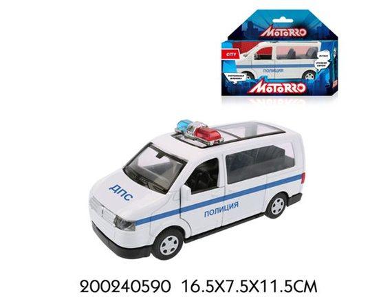 "Машинка Motorro ""Полиция"" 200240590"